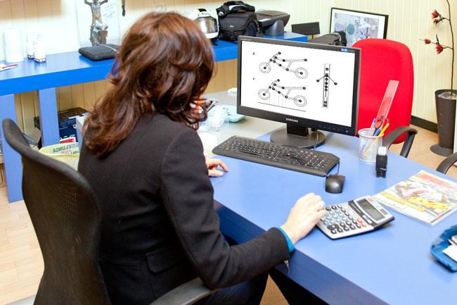 QBS misurazione al computer con software